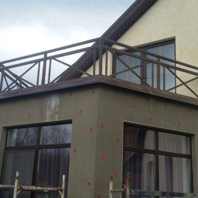 Кованые балконы Б3