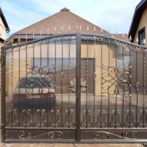 Кованые ворота V-13