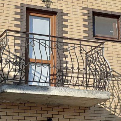 Кованые балконы Б43