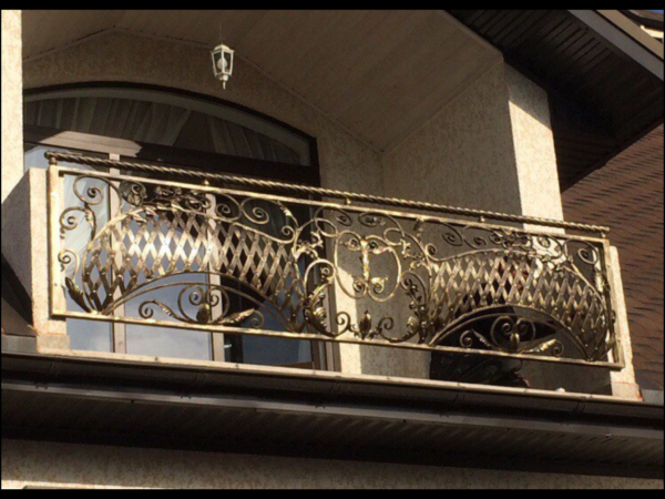 Кованые балконы Б5