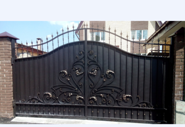 Кованые ворота V-67