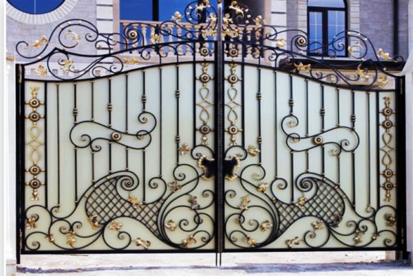 Кованые ворота V-41