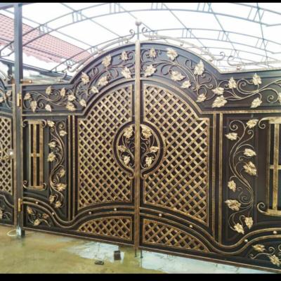 Кованые ворота V-37