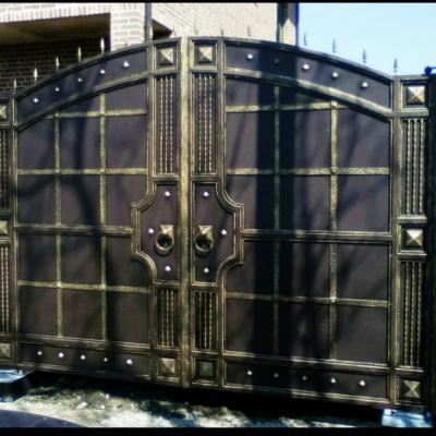 Кованые ворота V-36