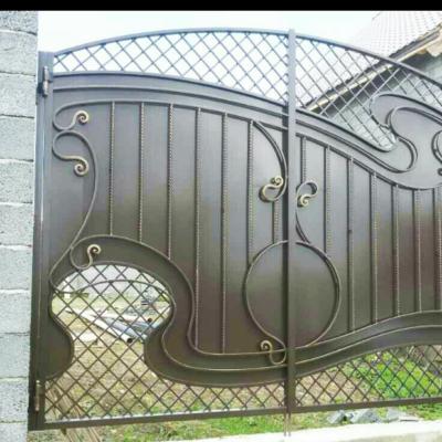 Кованые ворота V-35