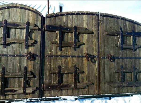 Кованые ворота V-27