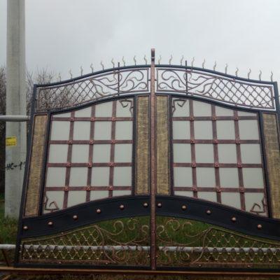 Кованые ворота V-63