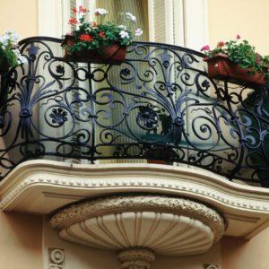 Кованые балконы Б10