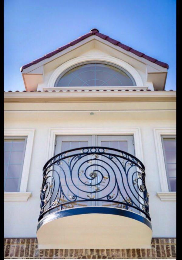 Кованые балконы Б9