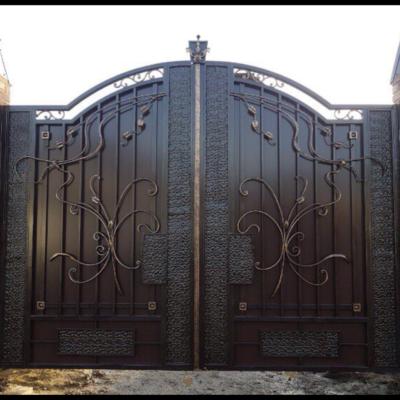 Кованые ворота V-22