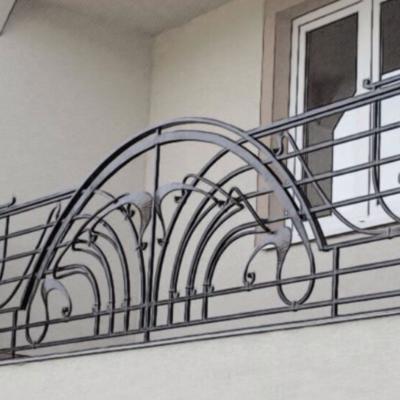 Кованые балконы Б15