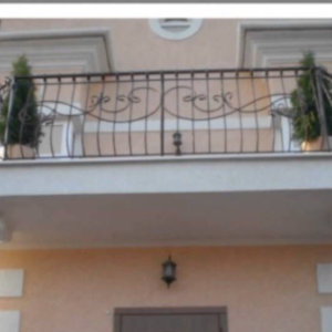 Кованые балконы Б16