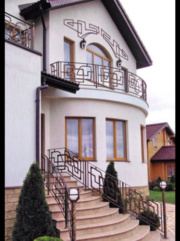 Кованые балконы Б17