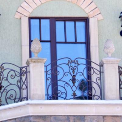 Кованые балконы Б29