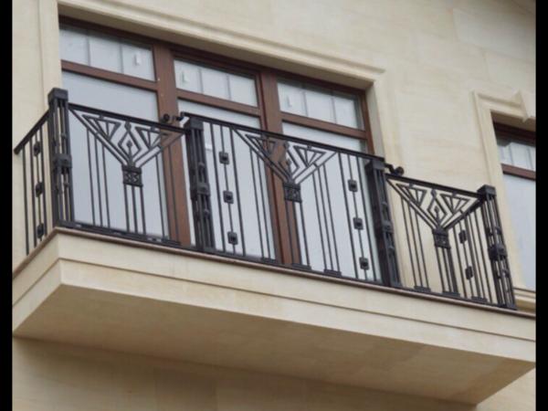 Кованые балконы Б36