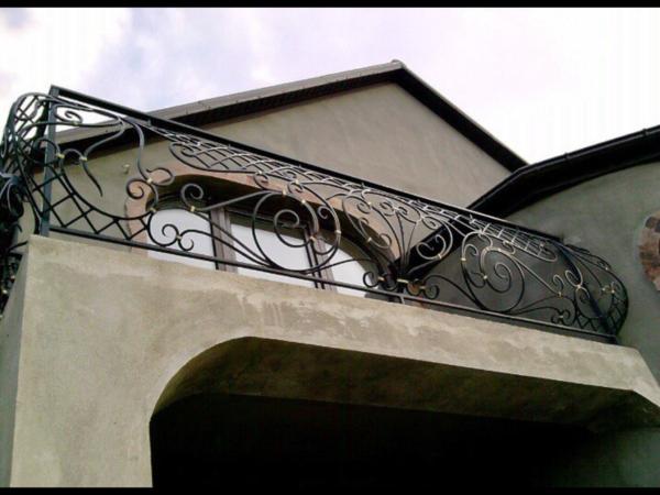 Кованые балконы Б44