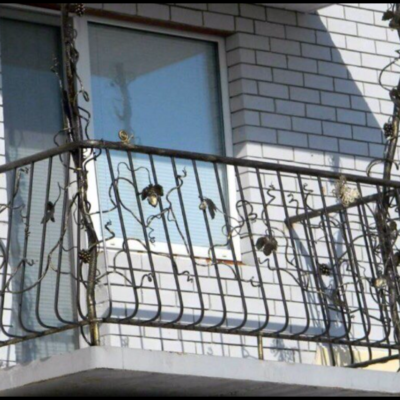 Кованые балконы Б46