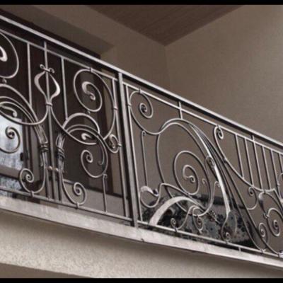 Кованые балконы Б48