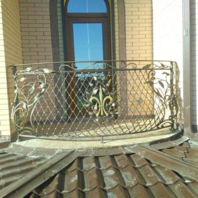 Кованые балконы Б49