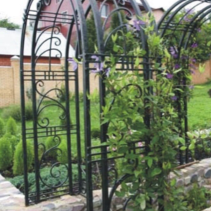 Кованая садовая арка А-19