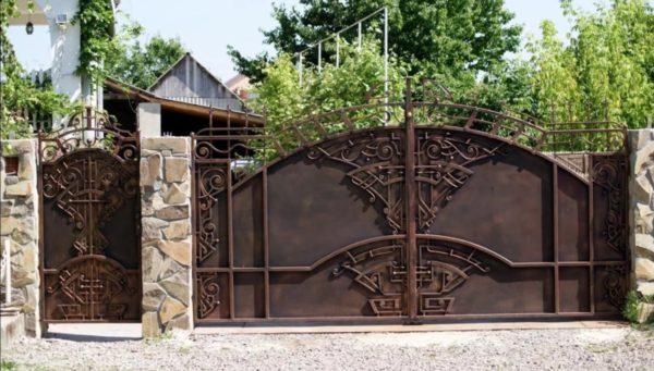 Автоматические ворота Ав13