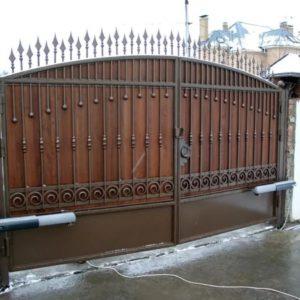 Автоматические ворота Ав9