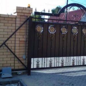 Автоматические ворота Ав7