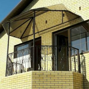 Кованые балконы Б1