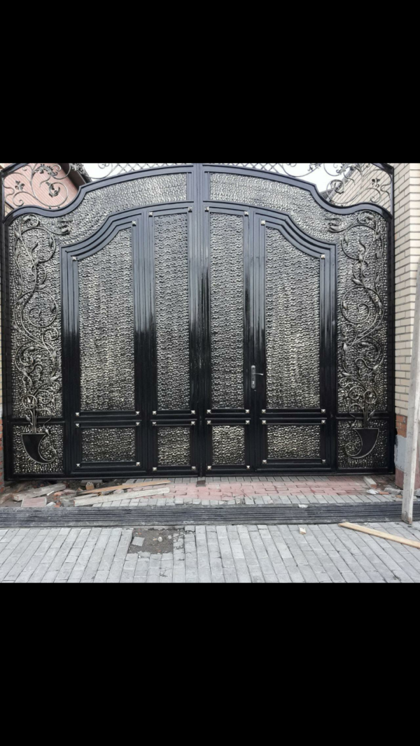 Кованые ворота V-32