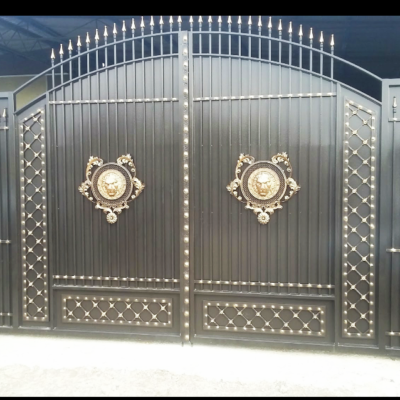 Кованые ворота V-94