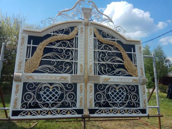Кованые ворота V-97