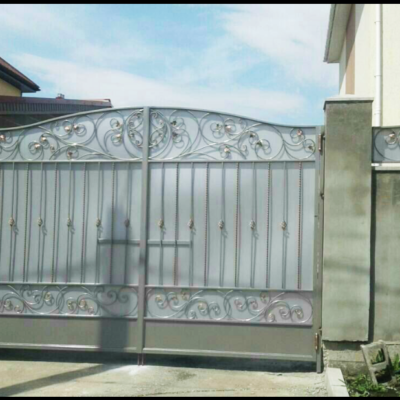 Кованые ворота V-98