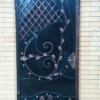 Кованые ворота V-104