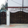 Кованые ворота V-100