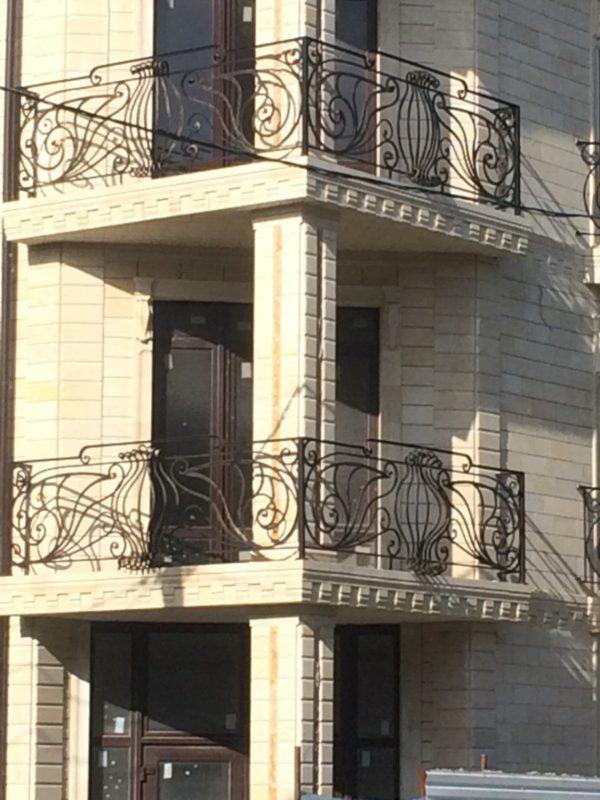 Кованые балконы Б-59