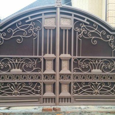 Кованые ворота V-75