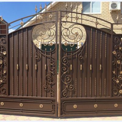 Кованые ворота V-91