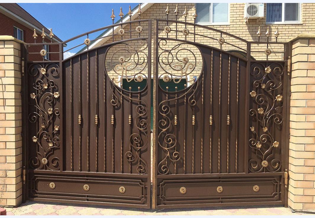 Ворота заборы картинки смотреть