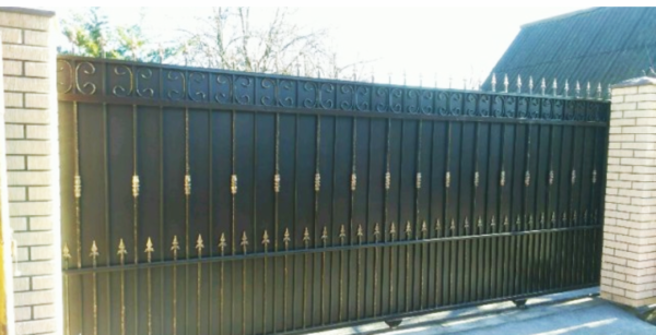 Кованые ворота V-79