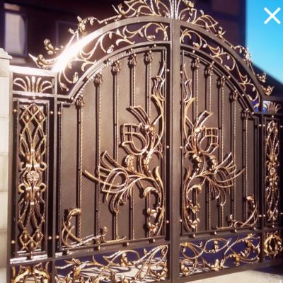 Кованые ворота V-84