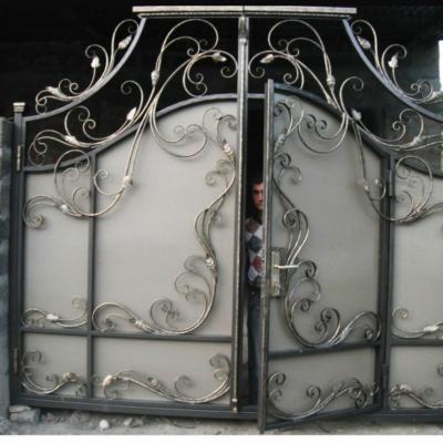 Кованые ворота V-87