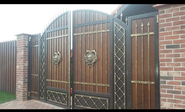 Кованые ворота V-95