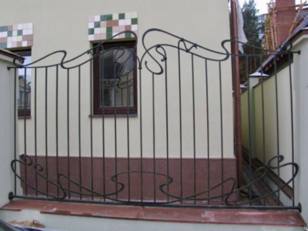 Кованый забор Зс-40