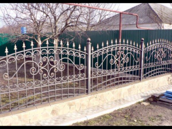 Кованый забор ЗС-35