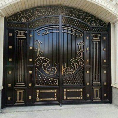Кованые ворота V-108