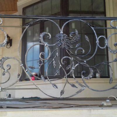 Кованые балконы Б-64