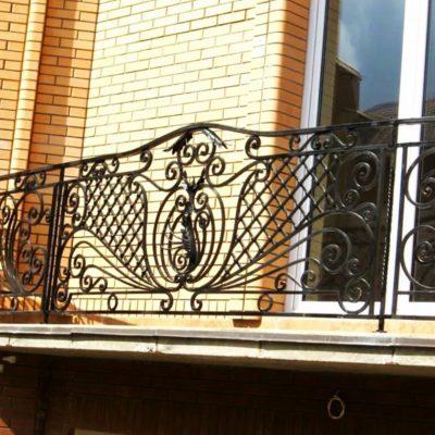 Кованые балконы Б-65