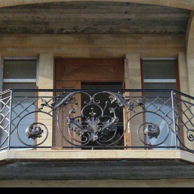 Кованые балконы Б-66