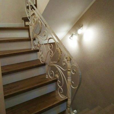 Кованые перила для балкона, лестниц, крыльца П -147