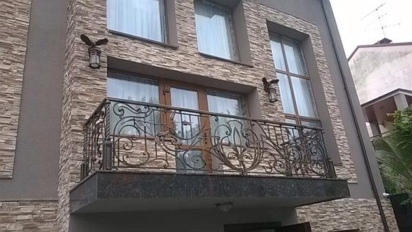 Кованые балконы Б-68